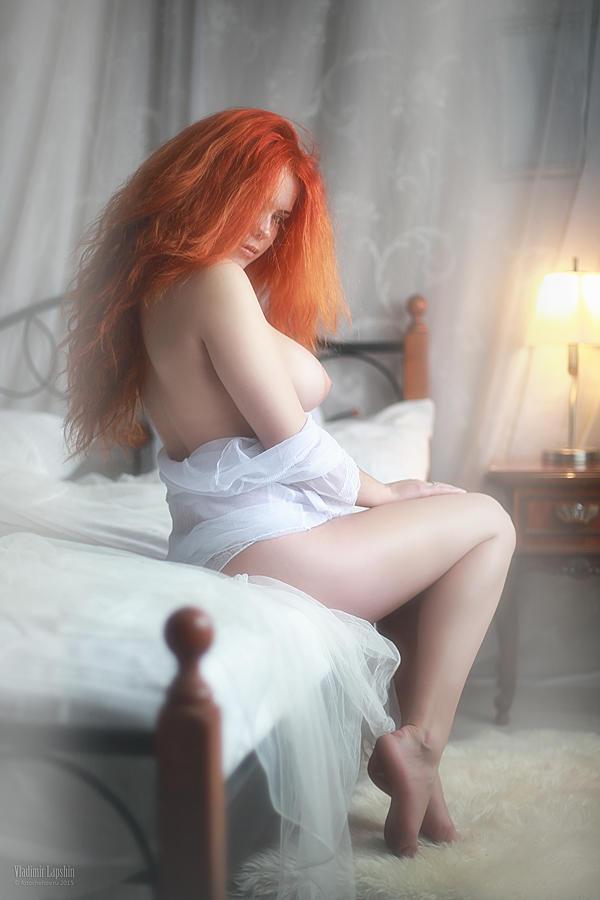 Рыженькая лисонька