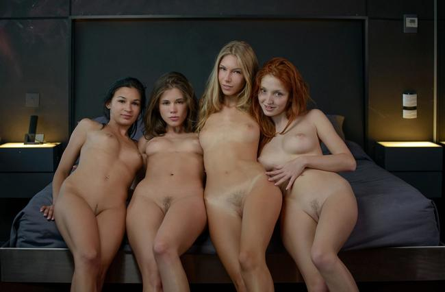 Четыре очаровашки