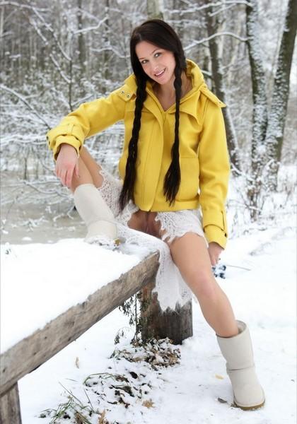 Красотка любит зиму
