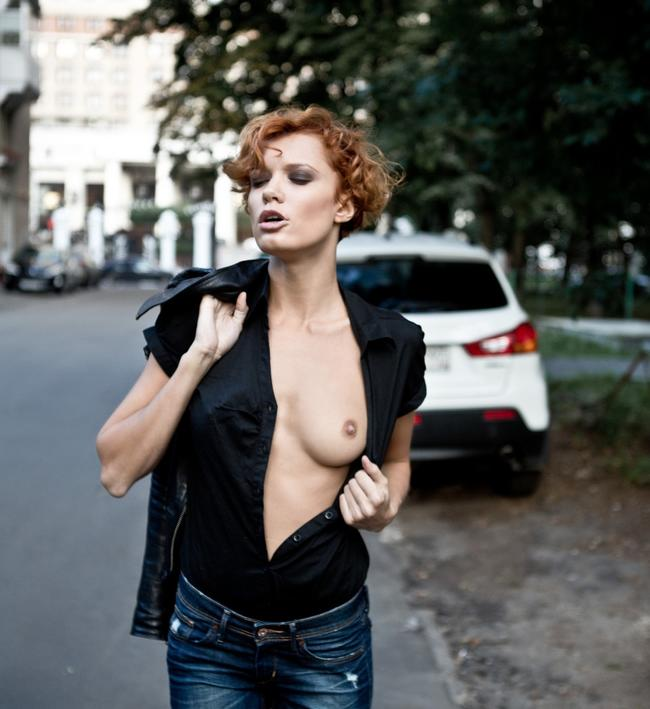 На улице Москвы