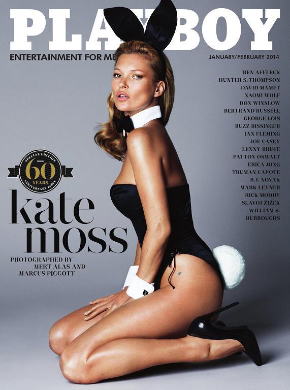 Полный Фотосет Кейт Мосс (Kate Moss) Для Playboy