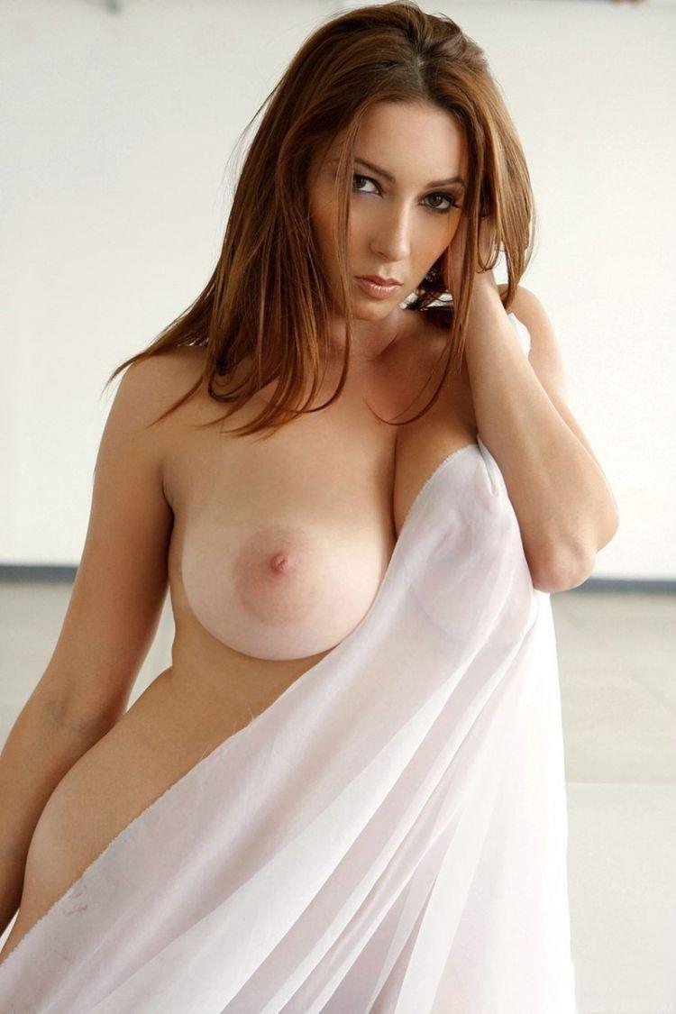 Sexy big tit half naked girls