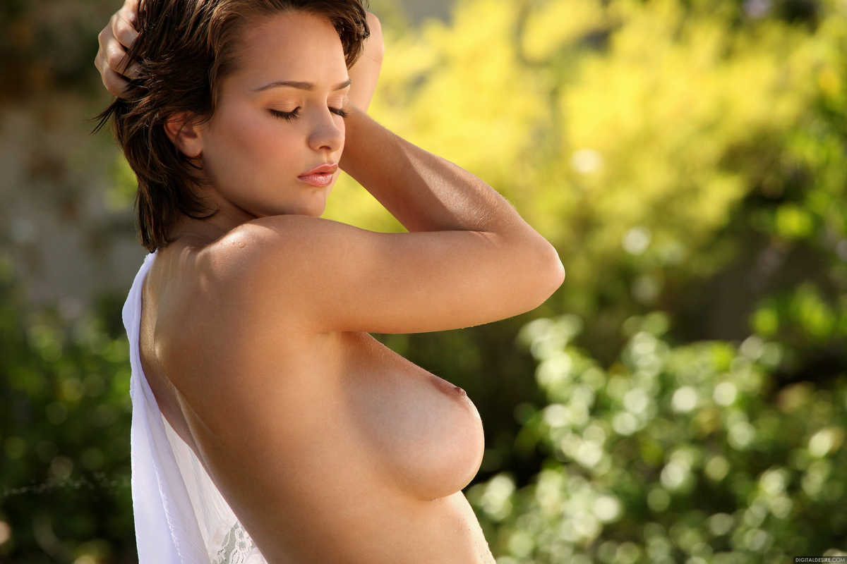 Nude womens breasts