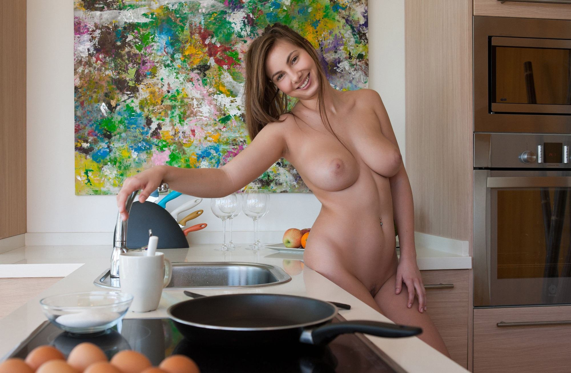 stone-nude-boobs-in-food-naked-women