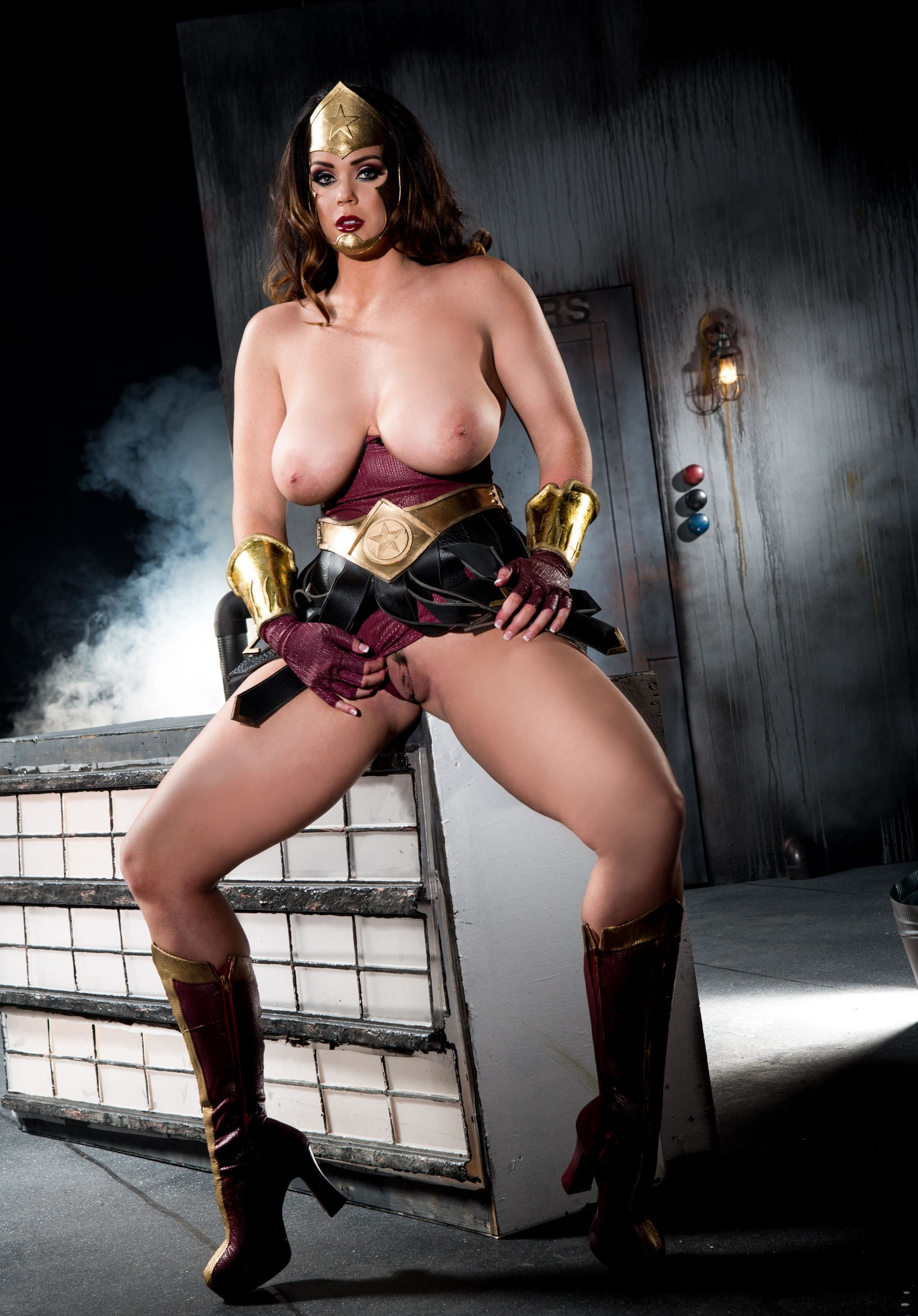 Sexy superhero costumes women naked