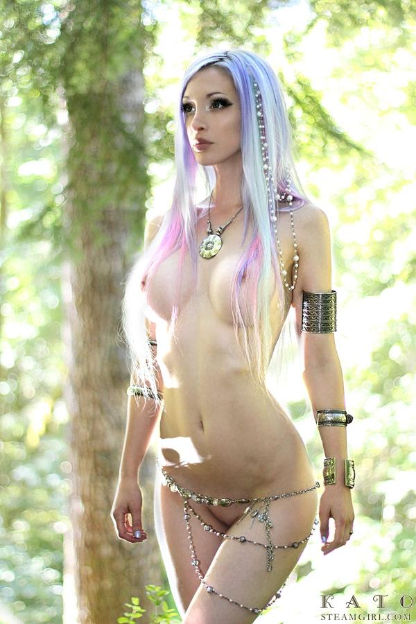 Girls cosplay naked