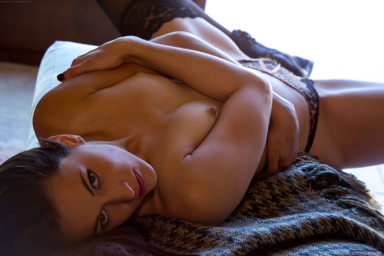 Красотка с маленькой грудью. Фотосет