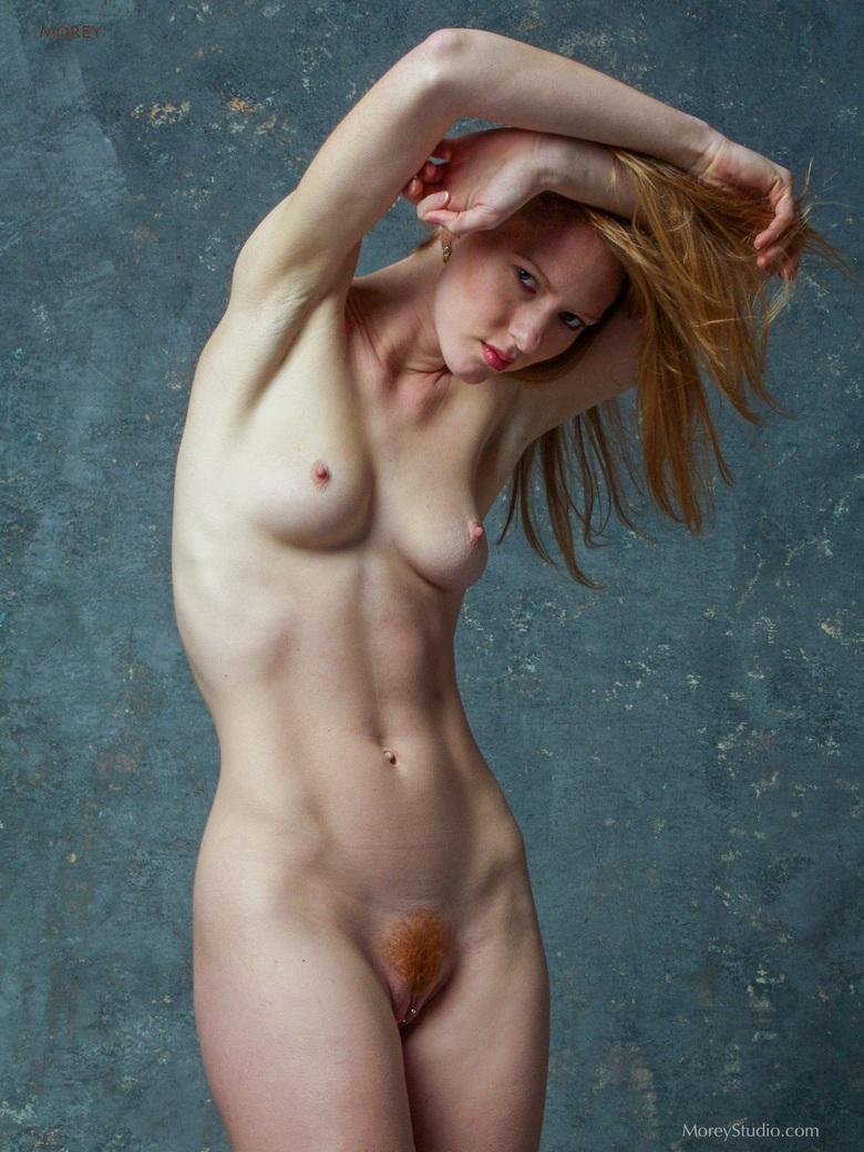 Рыженький лобок