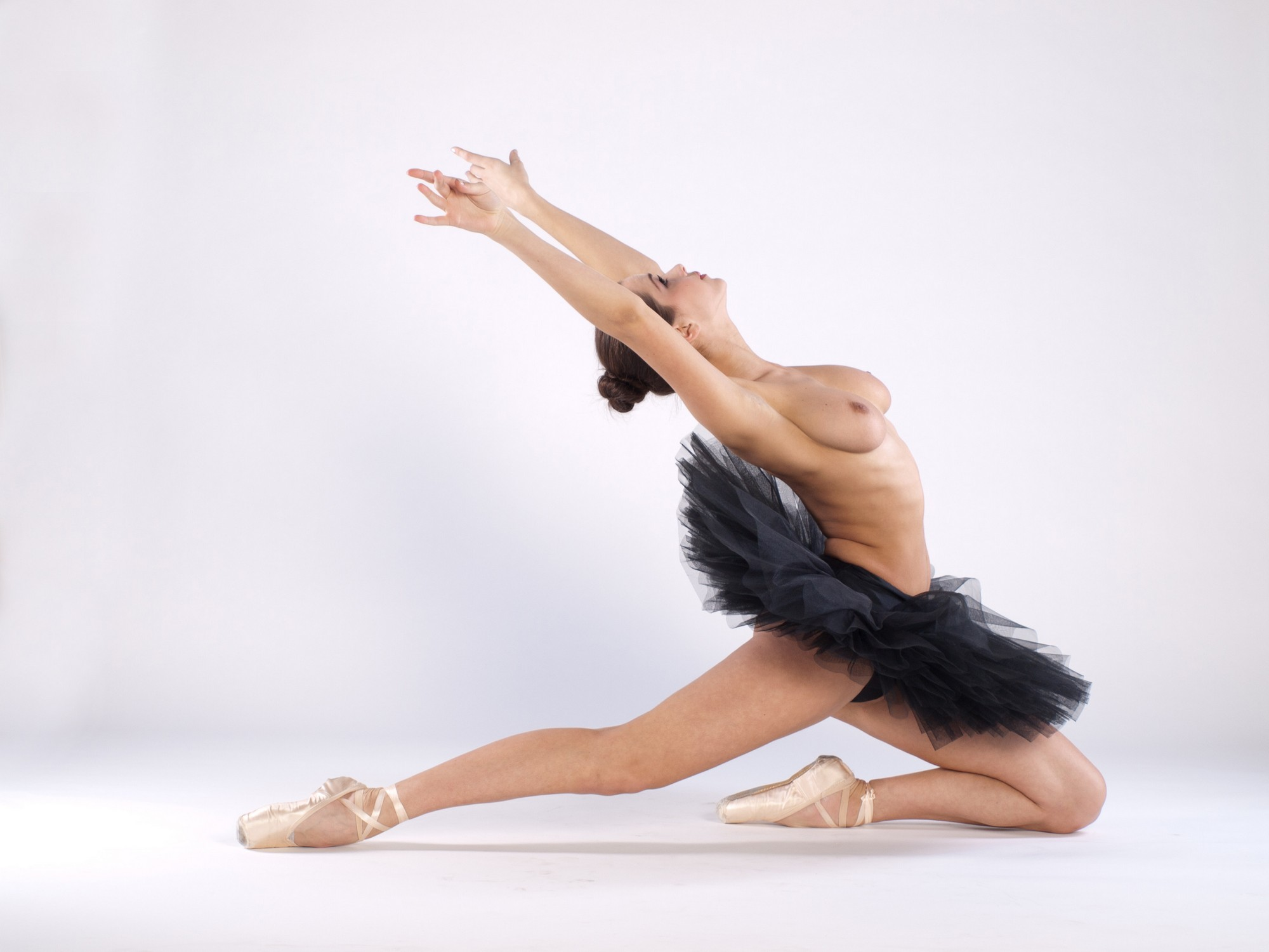 Sexy young ballet