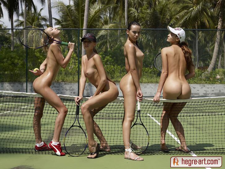 Сексуальная сборная по теннису