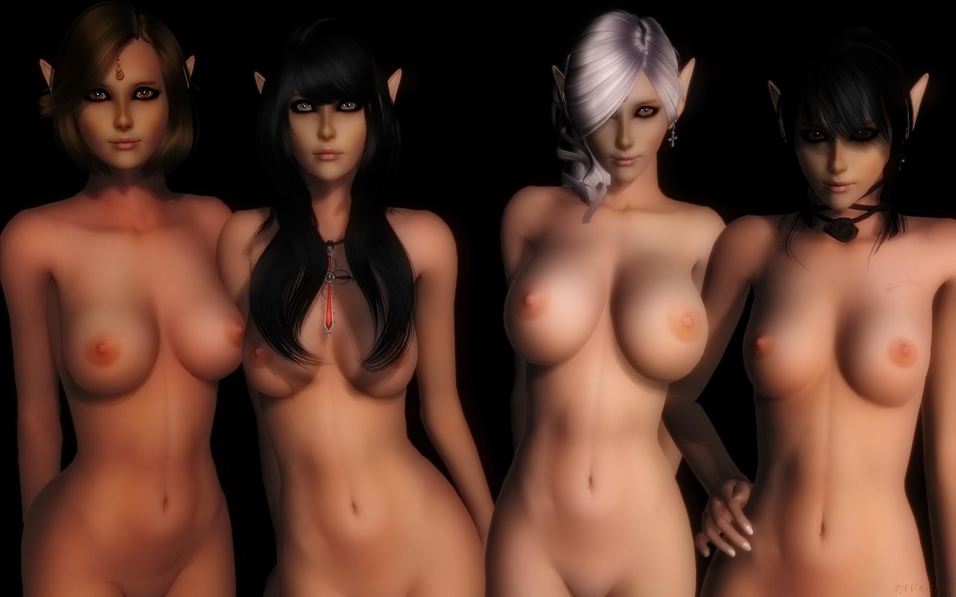 Unreal girls naked 15