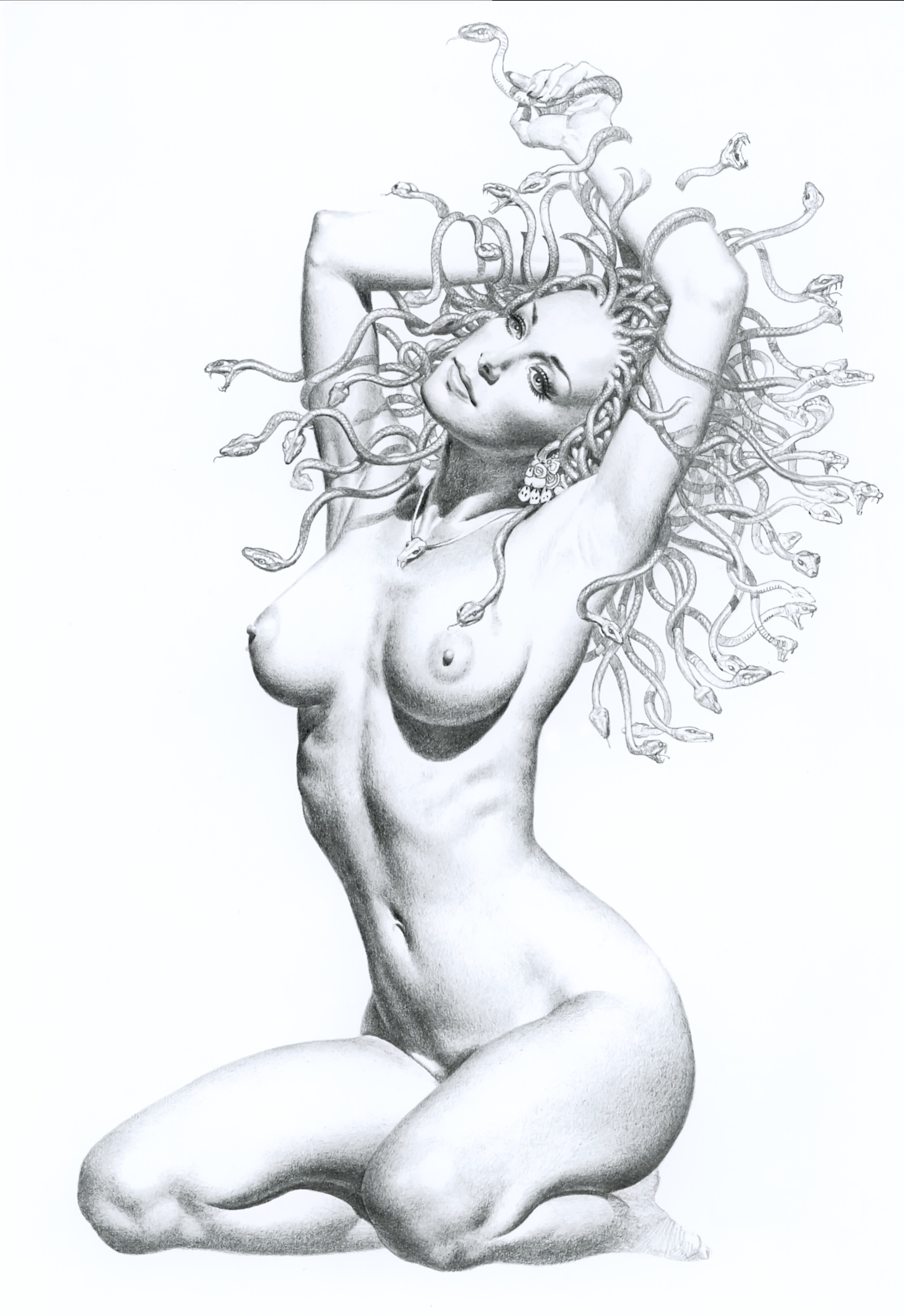 домашние эротические эротические рисунки в графике карандашом божье