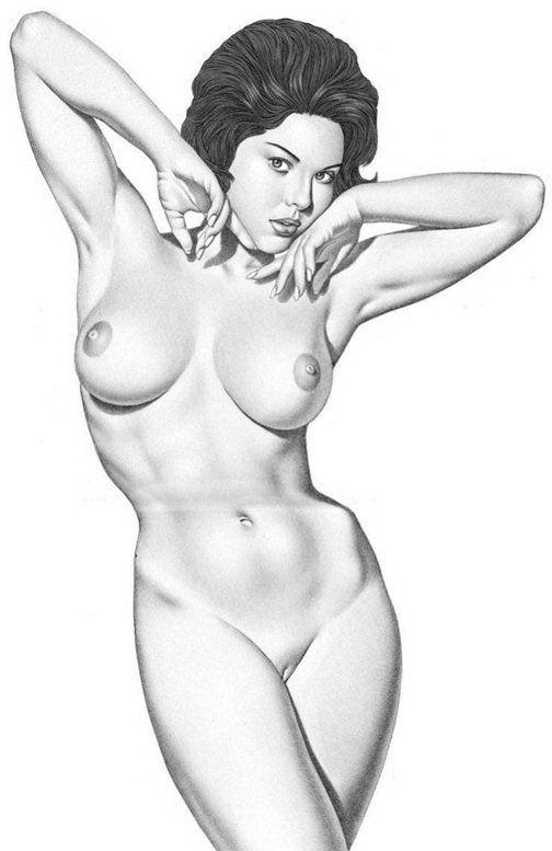 красивые секс рисунки голых женщин девушки большим