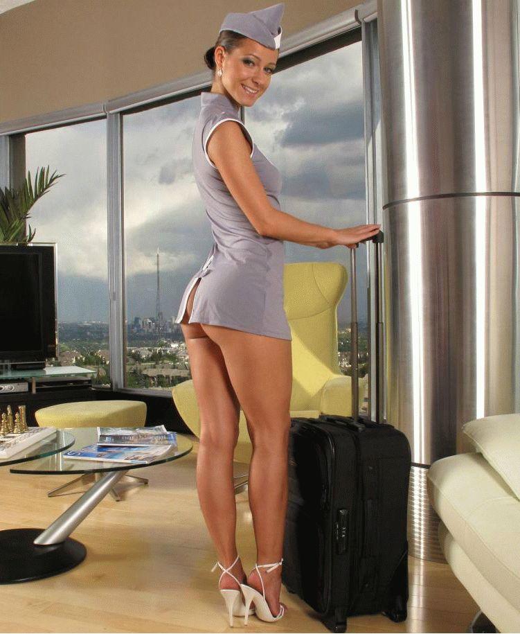 Сексуальная стюардесса мелисса — pic 7