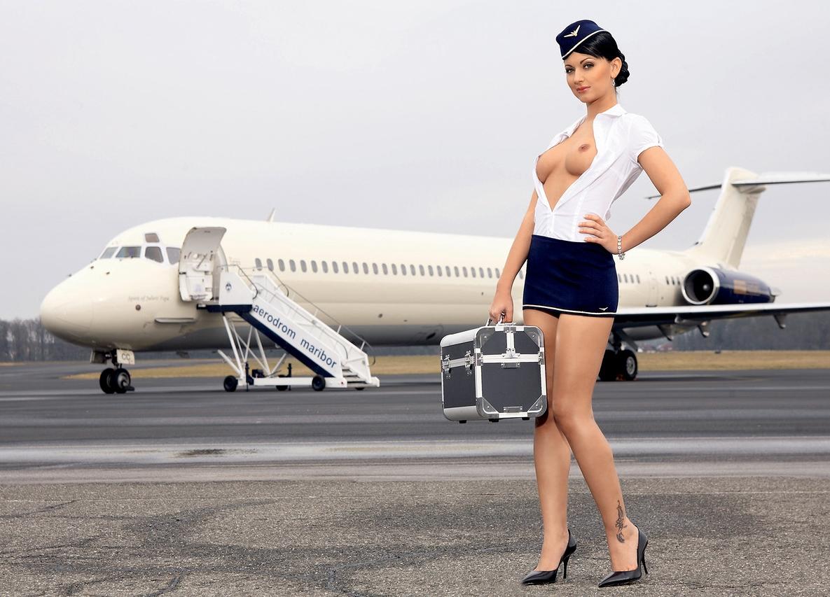 Эро фото красивых стюардесс, полных девушек трахают