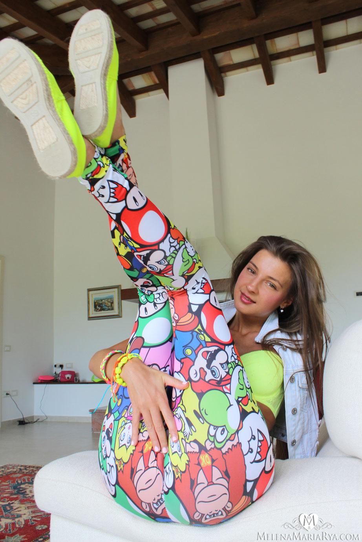 Маша Рябушкина и ее штанишки