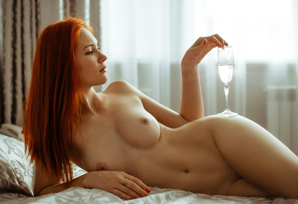 Masseuse hot nude redhead in a hotel room girl