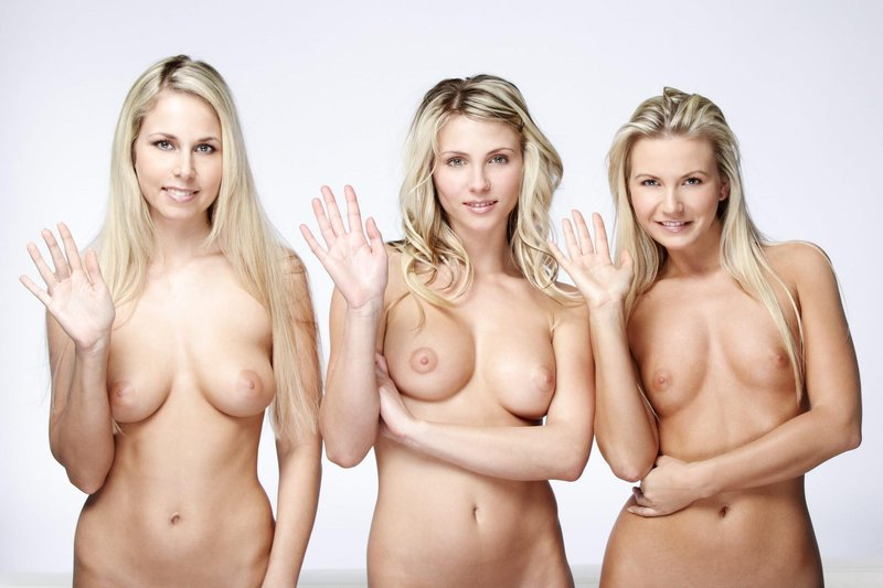Groups of naked blonde girls — 5