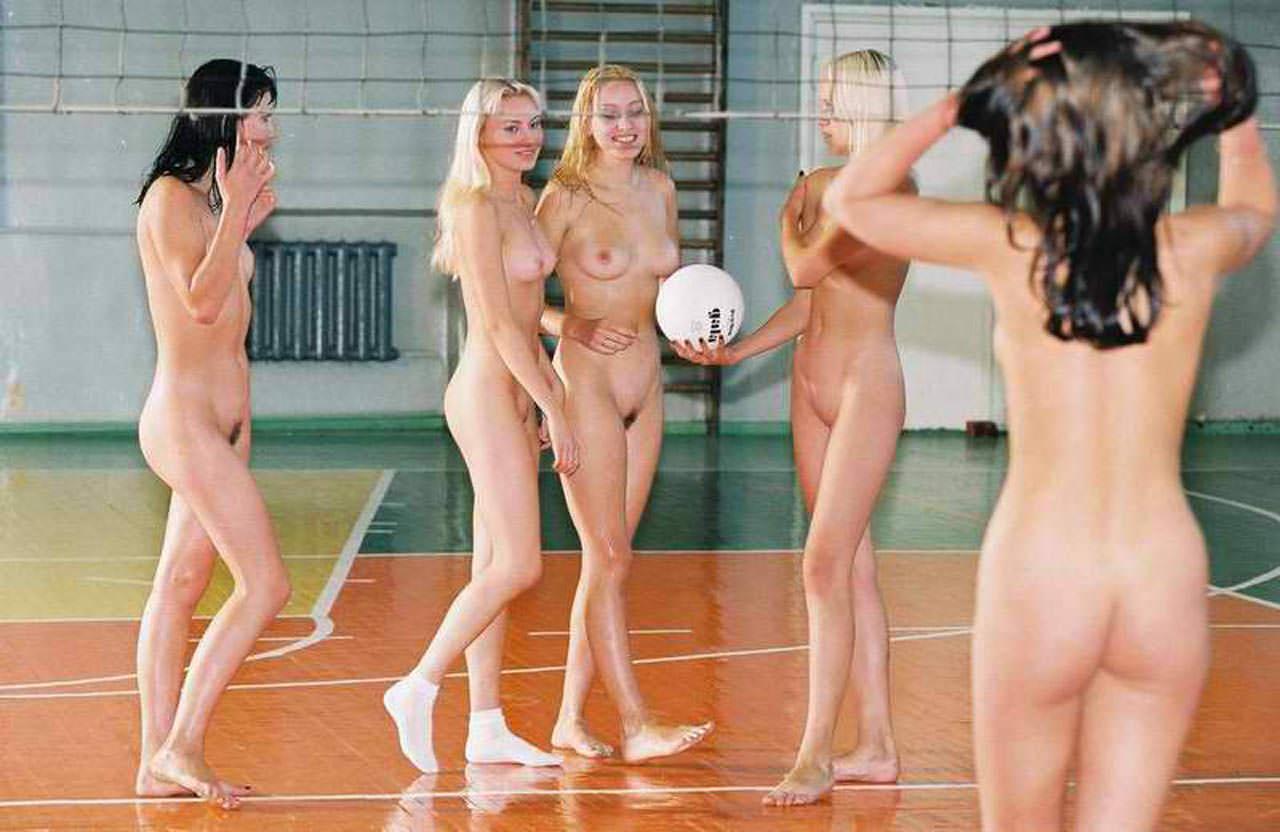 Girls bball team xxx #4