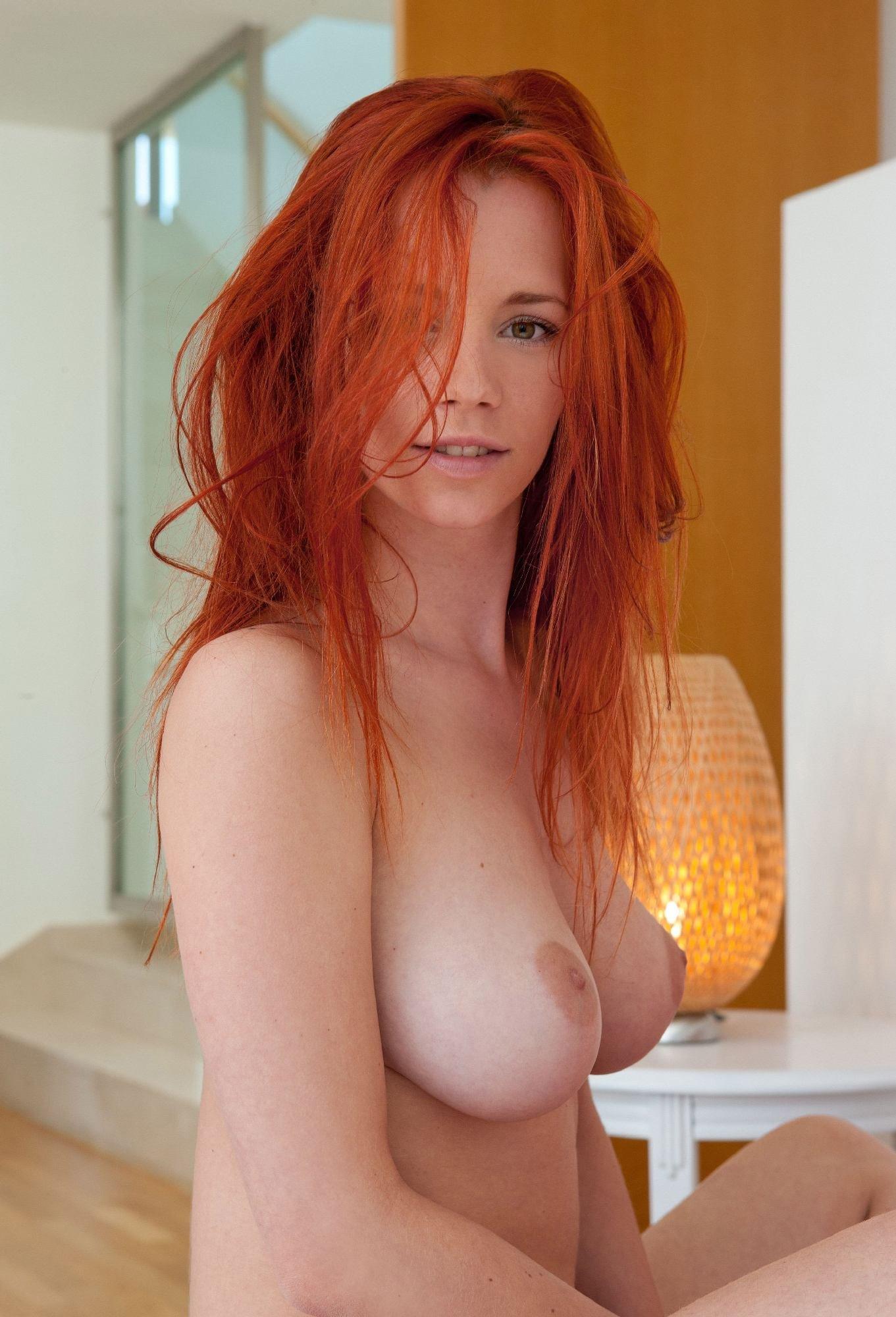 Sexy busty redheads