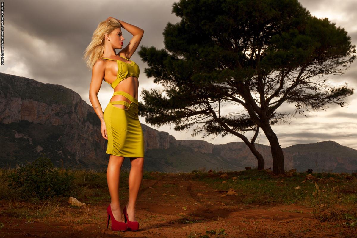 Девушка в Пустыне