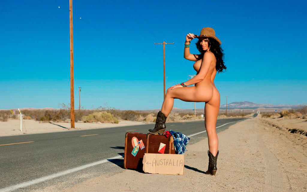 Girls naked hitchhiking, nude teen high school girl