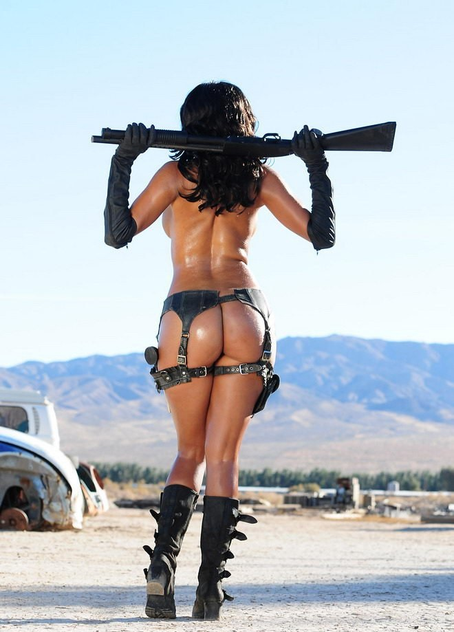 Nude women with weapon, free bottle anus insertion porn pics