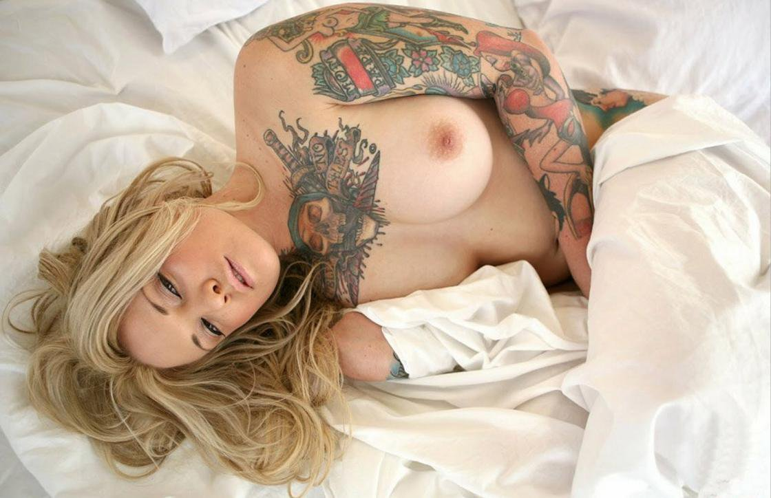 Fuck when tattooed girls nude became