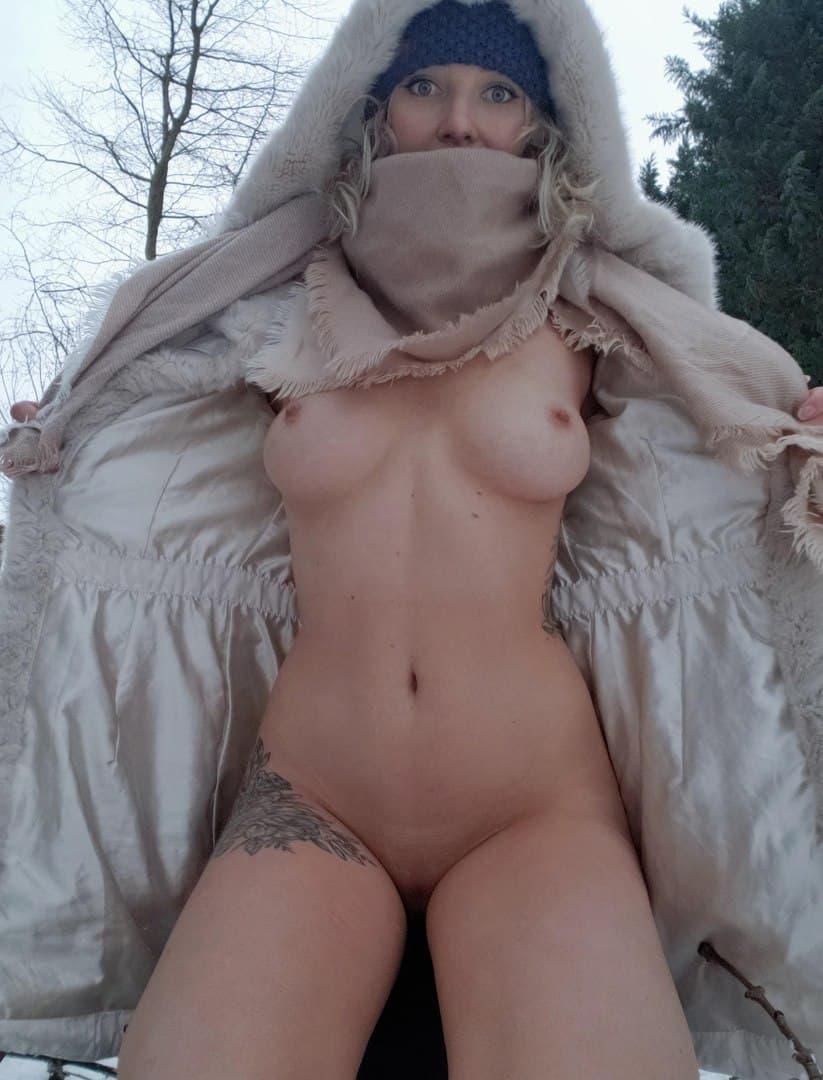 Совсем не замерзла