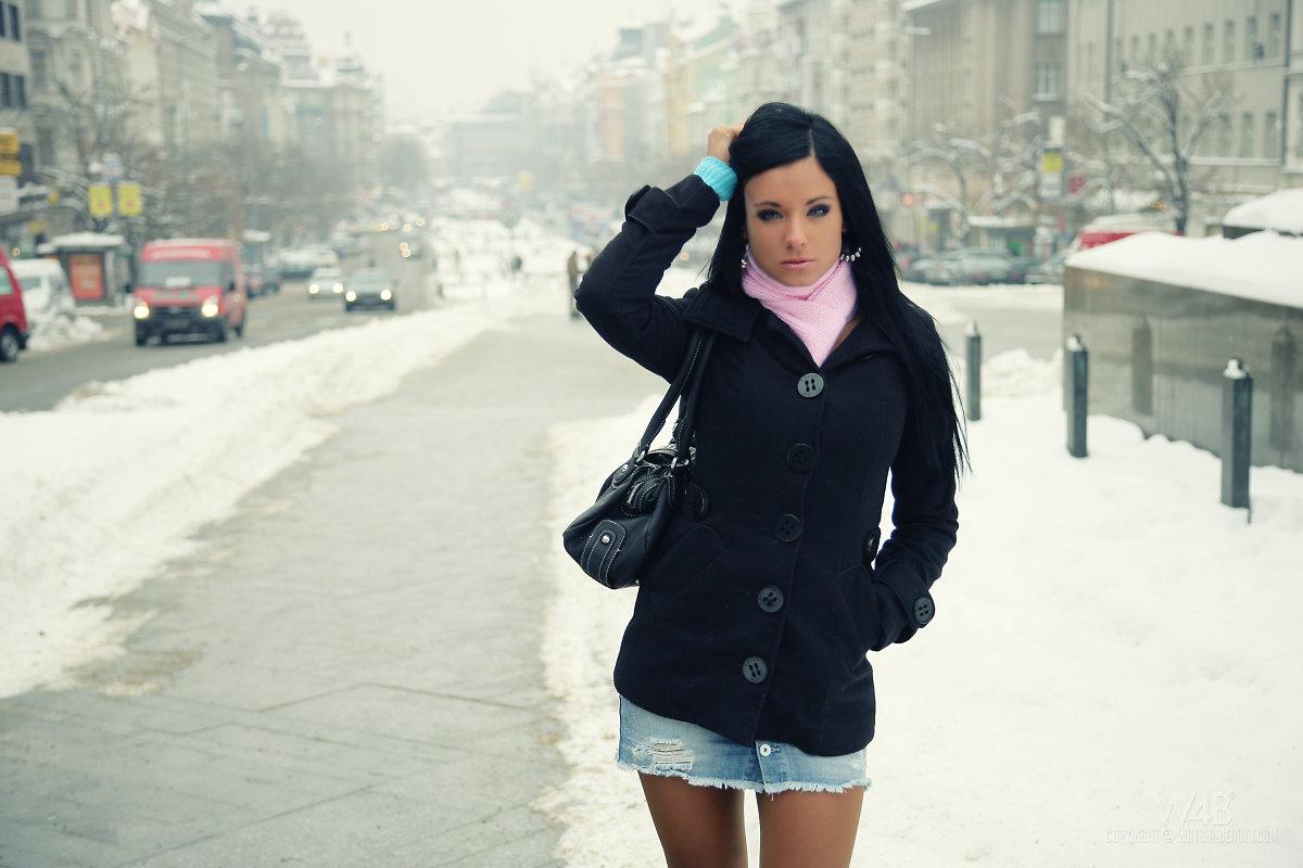 В зимнем городе