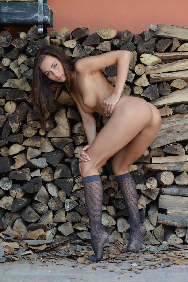 Отдых после заготовки дров