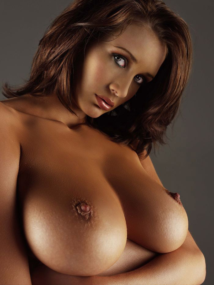 Big breasted womens nude double